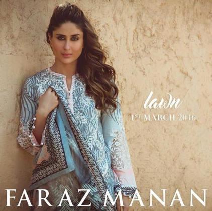 Faraz Manan Spring Summer Lawn Collection