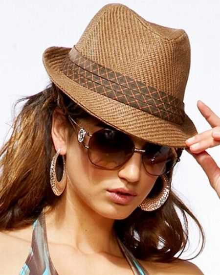Fashionable women hats