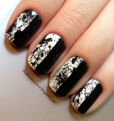 Splatter Nail Designs To Try In The Spring Season