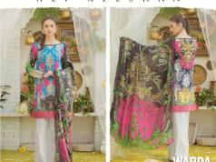 Ali Xeeshan Summer Lawn Warda Designs Collection 2016