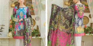 Ali Xeeshan Summer Lawn Warda Designs Collection 2016