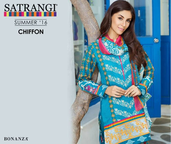 Bonanza Satrangi Chiffon Summer Collection