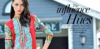 Doha Embroidered Summer Kurti Collection 2016