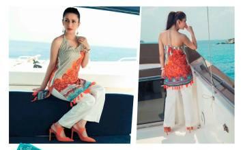 Exotic Summer Lawn Shalwar Kameez Dresses By Ayesha Ibrahim 2016