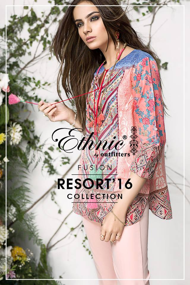 Fusion Resort Summer Collection Ethnic By Outfitters 2016