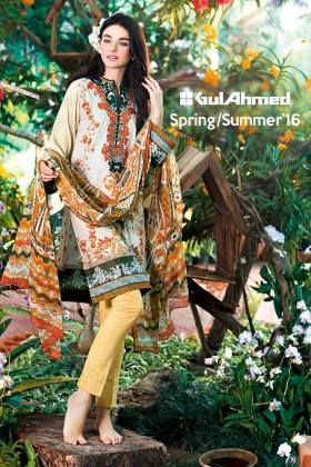 Gul Ahmed La Chiffon Spring Summer Collection 2016
