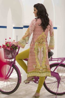 Mashal Embroidered Summer Kurti Collection