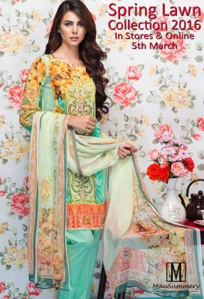 Mausummery 3 Piece Spring Lawn Collection