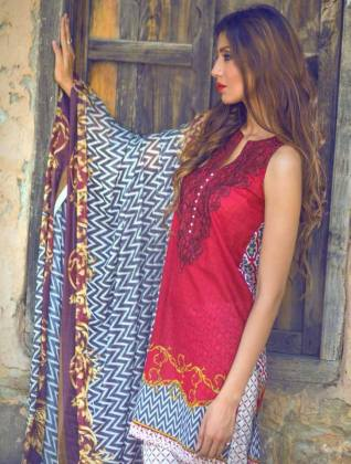Mina Hassan Printed Lawn Collection Shariq Textiles 2016
