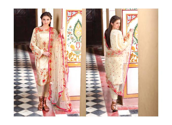 Motifz Embroidered Lawn Fancy Dresses