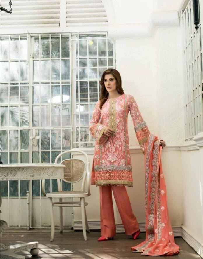 Nomi Ansari Chiffon Summer Collection