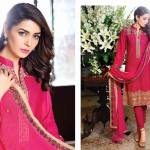 Nur Embroidered Swiss Voile Lawn Dresses 2016
