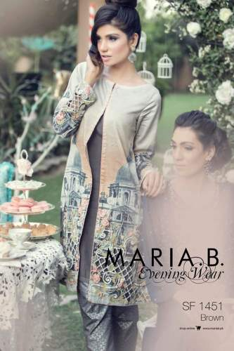 Ready To Wear Summer Collection Maria B Dresses 2016