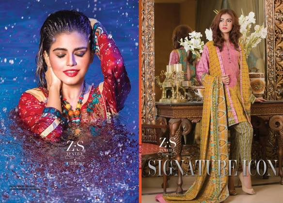 Signature Icon ZS Textiles Summer Collection 2016