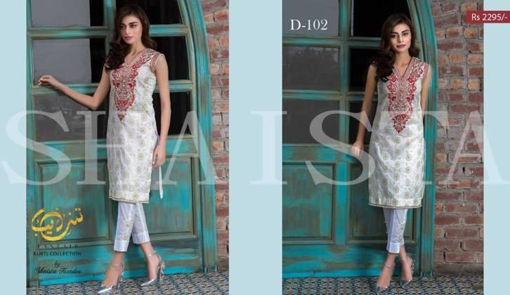 Tanzaib Kurti Shalwar Summer Collection