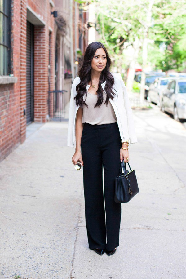 Try Wide Leg Pants Trend This Spring/Summer Season 2016