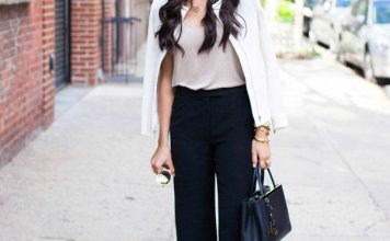 Try Wide Leg Pants Trend This SpringSummer Season 2016