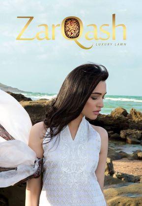 Zarqash Luxury Lawn Shalwar Kameez Collection 2016