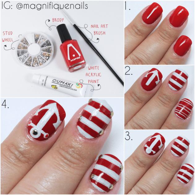 simple nail tutorials