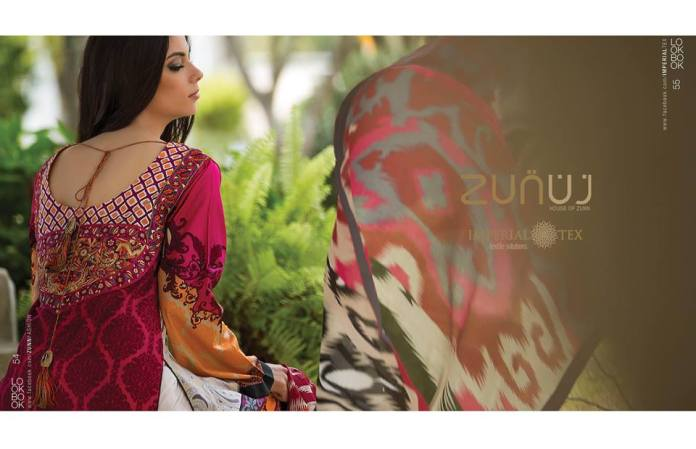 Summer Luxury lawn Zunuj