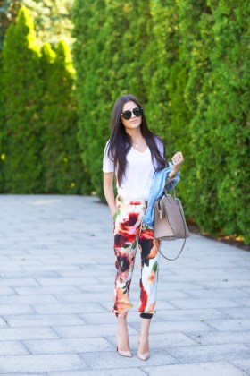 Summer Printed Pants