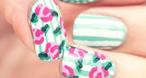 Amazing Striped Nail Designs For Summer Season You Need To See