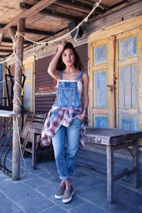 Denim Overall Summer Casual Wear For Women 2016