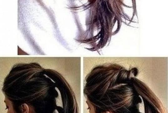 Fast Hair Tutorials That Are Done In Minutes
