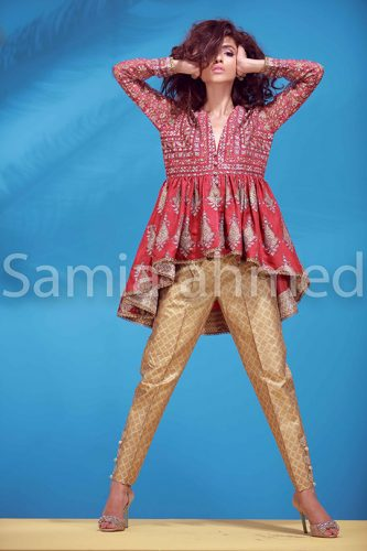 Samia Ahmed Fancy Eid Collection
