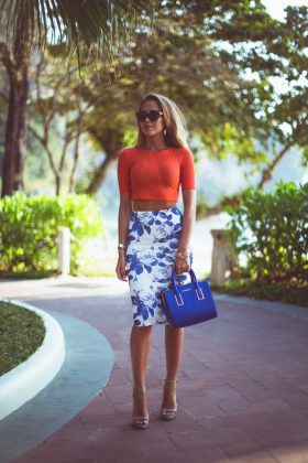 Trendy Floral Skirts You Will Love To Wear This Season