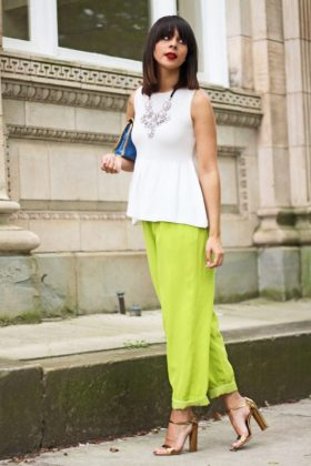 Lime Green Outfits For This Summer Season