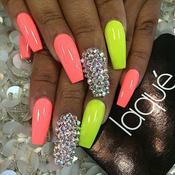 Neon Nail Designs - Neon Nail Designs You Will Love To Have In Summer