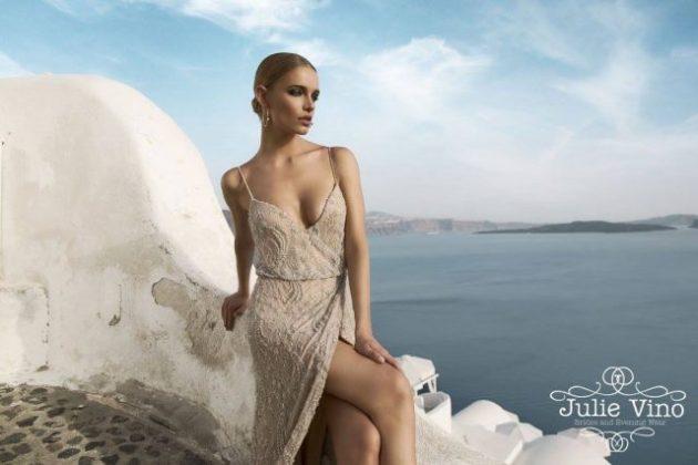 Santorini Evening Wear Dresses For Summer By Julie Vino