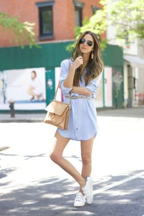 Summer Casual Dresses That Can be Worn With Sneakers