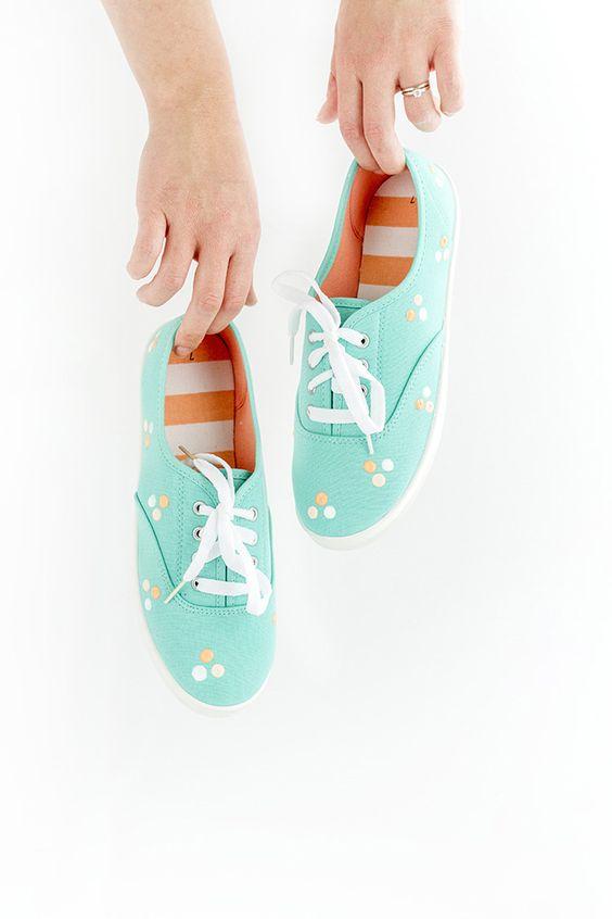 DIY Casual Shoe
