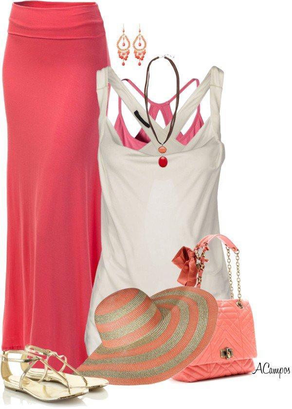 Maxi Skirts Polyvore Dresses For Summer Season