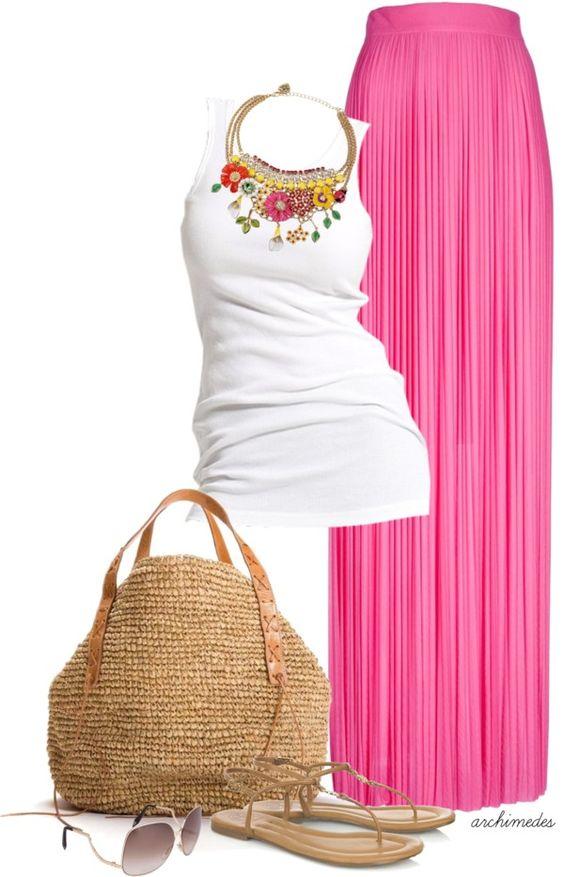 Maxi Skirts Polyvore Dresses For Summer Season 6