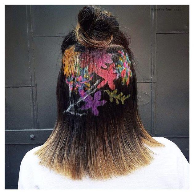 Stenciled Hair Ideas For This Summer Season 10
