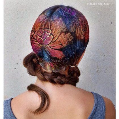 Stenciled Hair Ideas For This Summer Season