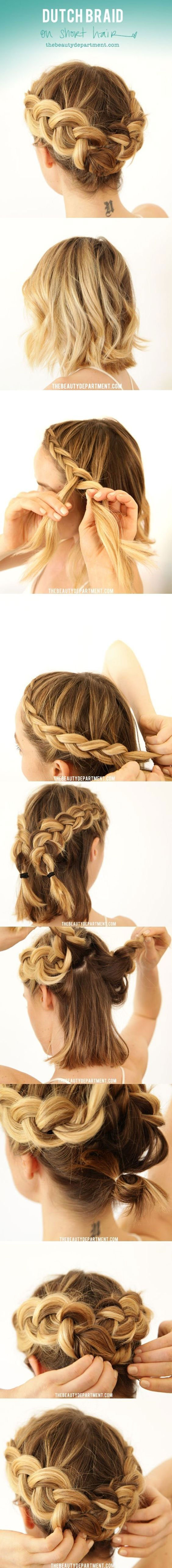 Braided Hairstyle Tutorials For Autumn Season 2016-17 6