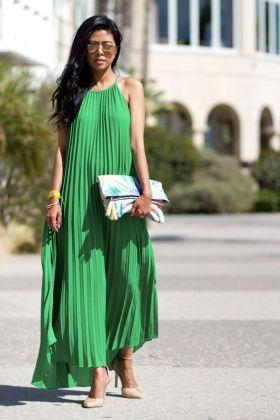 Pleated Dresses