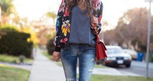 Floral Jackets Spring Clothing Essential This Season 2017