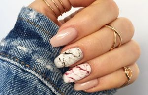 Marble Design Nails Summer Ideas You Need To Copy This Season