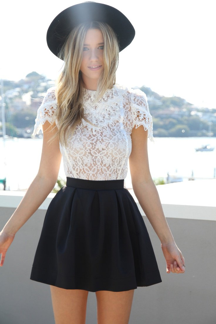 38fa82140d0c White Outfits Combinations You Must Try This Summer To Stay Cool