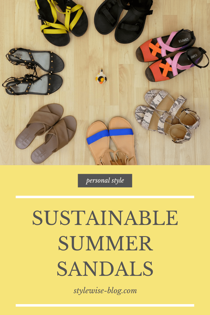 My sustainable summer sandals collection