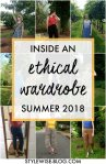 Inside an Ethical Wardrobe: Summer 2018