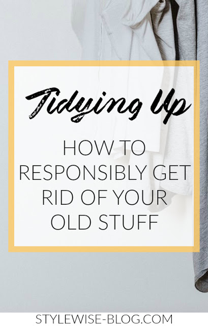 tips for tidying up and donating old things stylewise-blog.com