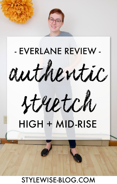 everlane authentic stretch denim high-rise and mid-rise review stylewise-blog.com