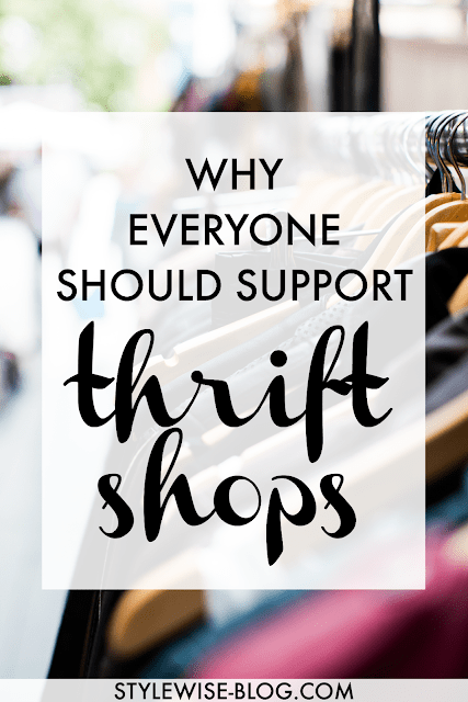 Reasons to support thrift shops
