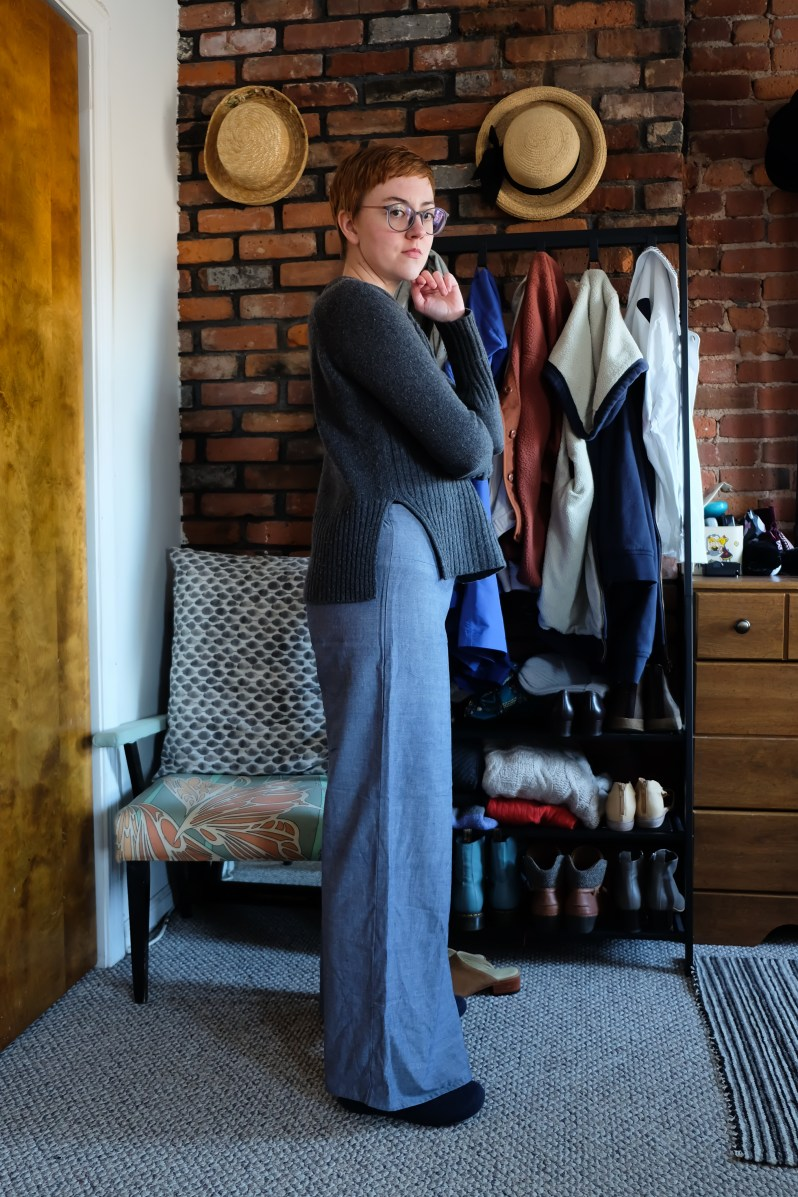 Wide leg pants lounge and formal fair trade by Passion Lilie